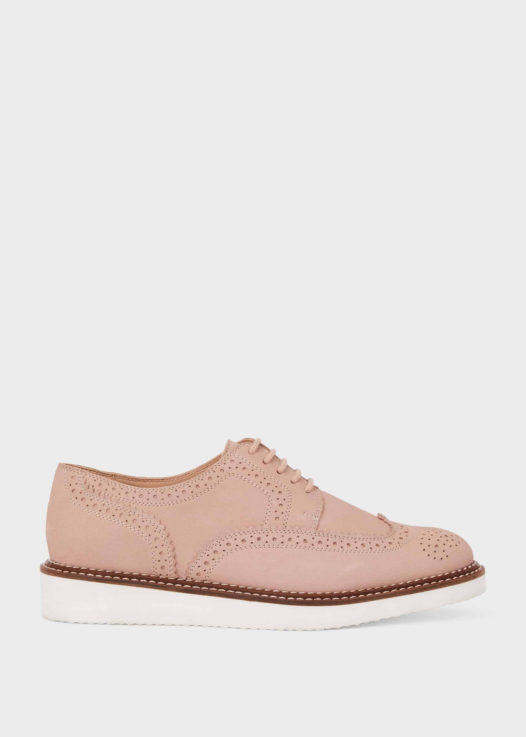 Hobbs Women Ottilie Leather Flatform Shoes