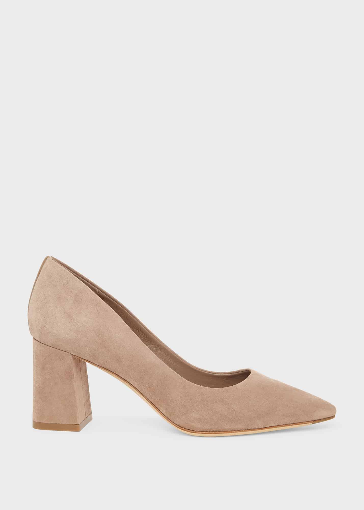 Hobbs Women Nicola Suede Court Shoes