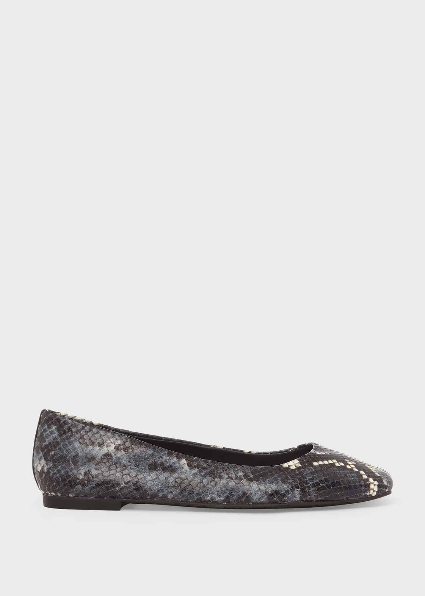 Hobbs Women Jemma Leather Flat Shoes