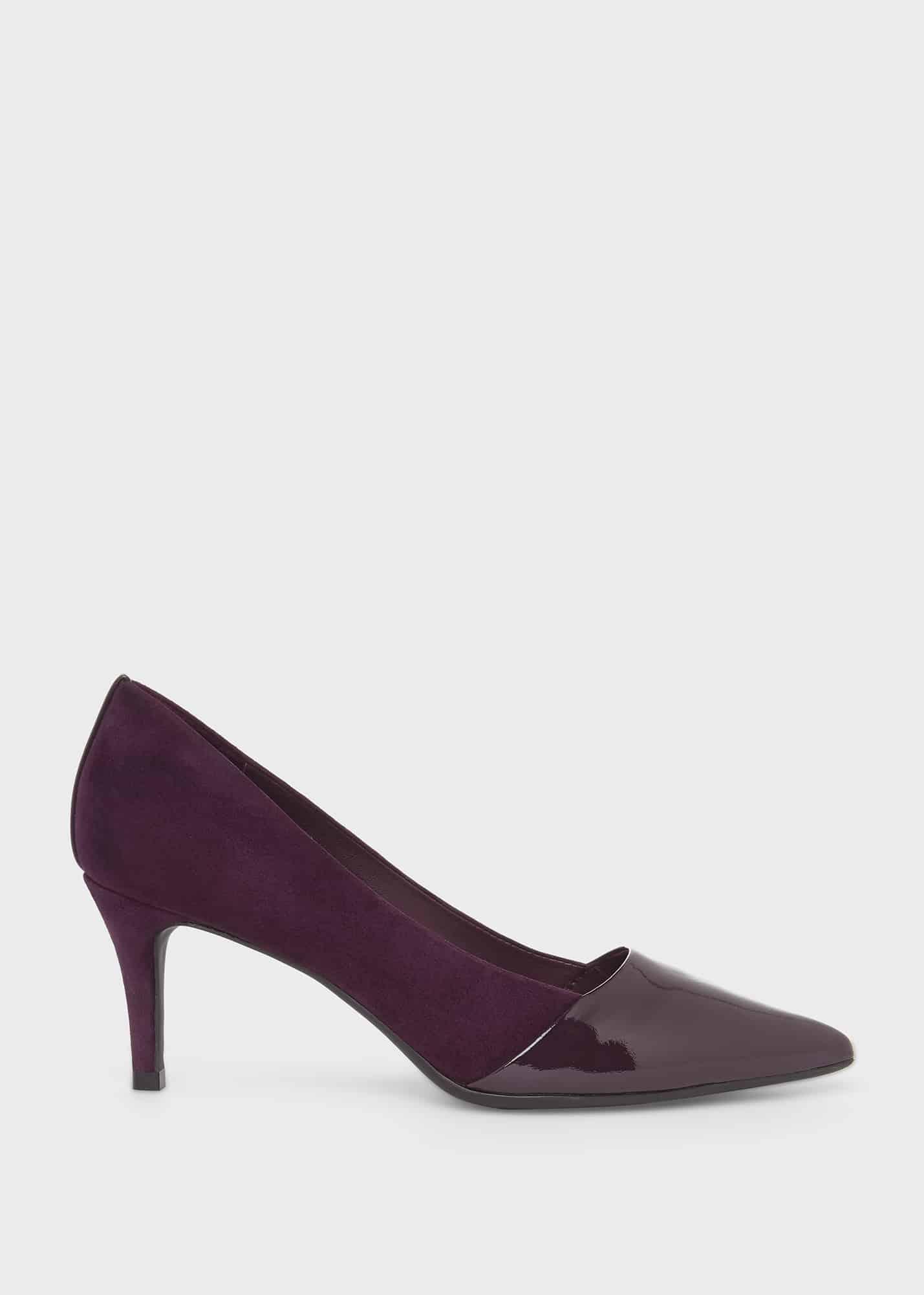 Hobbs Women Rowan Suede Court Shoes