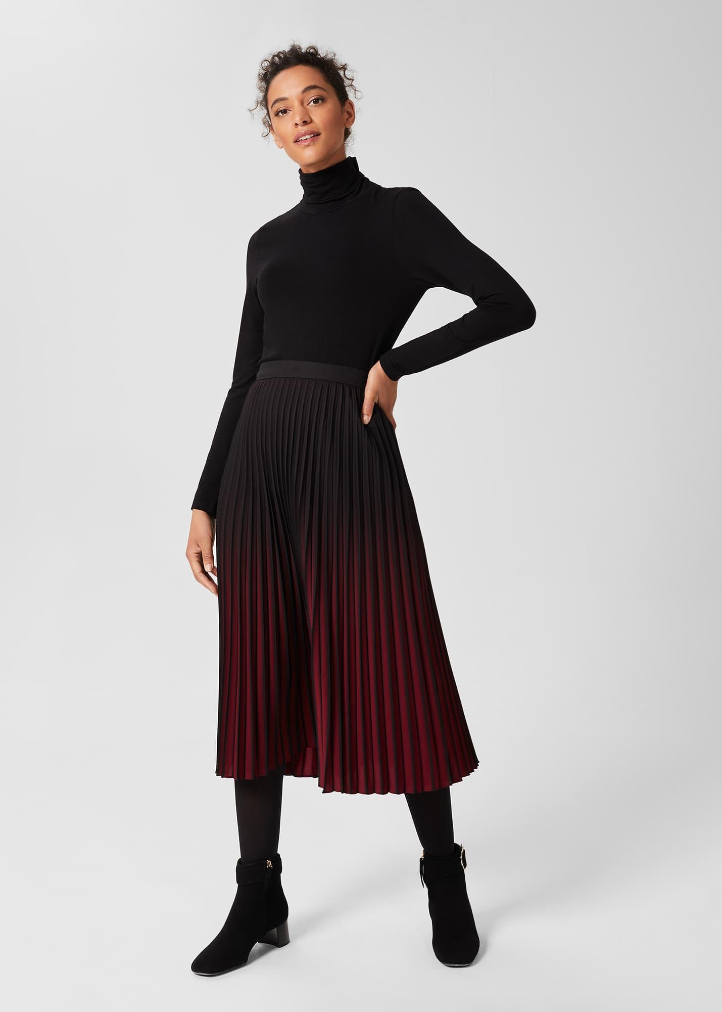 Hobbs Women Tasha Pleated Skirt