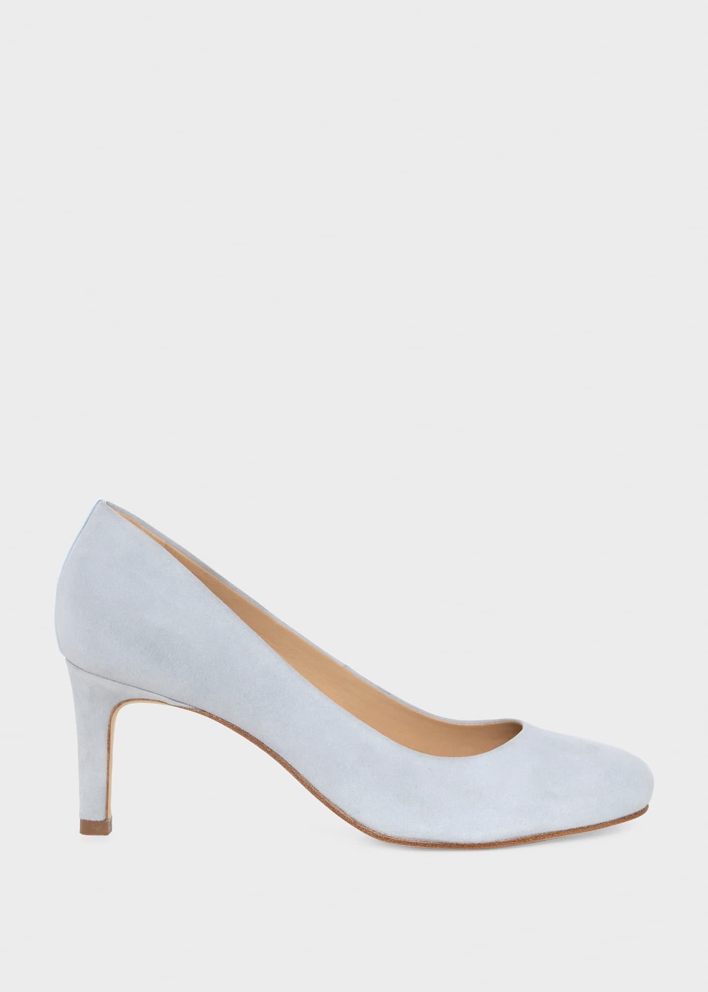 Hobbs Women Lizzie Suede Court Shoes