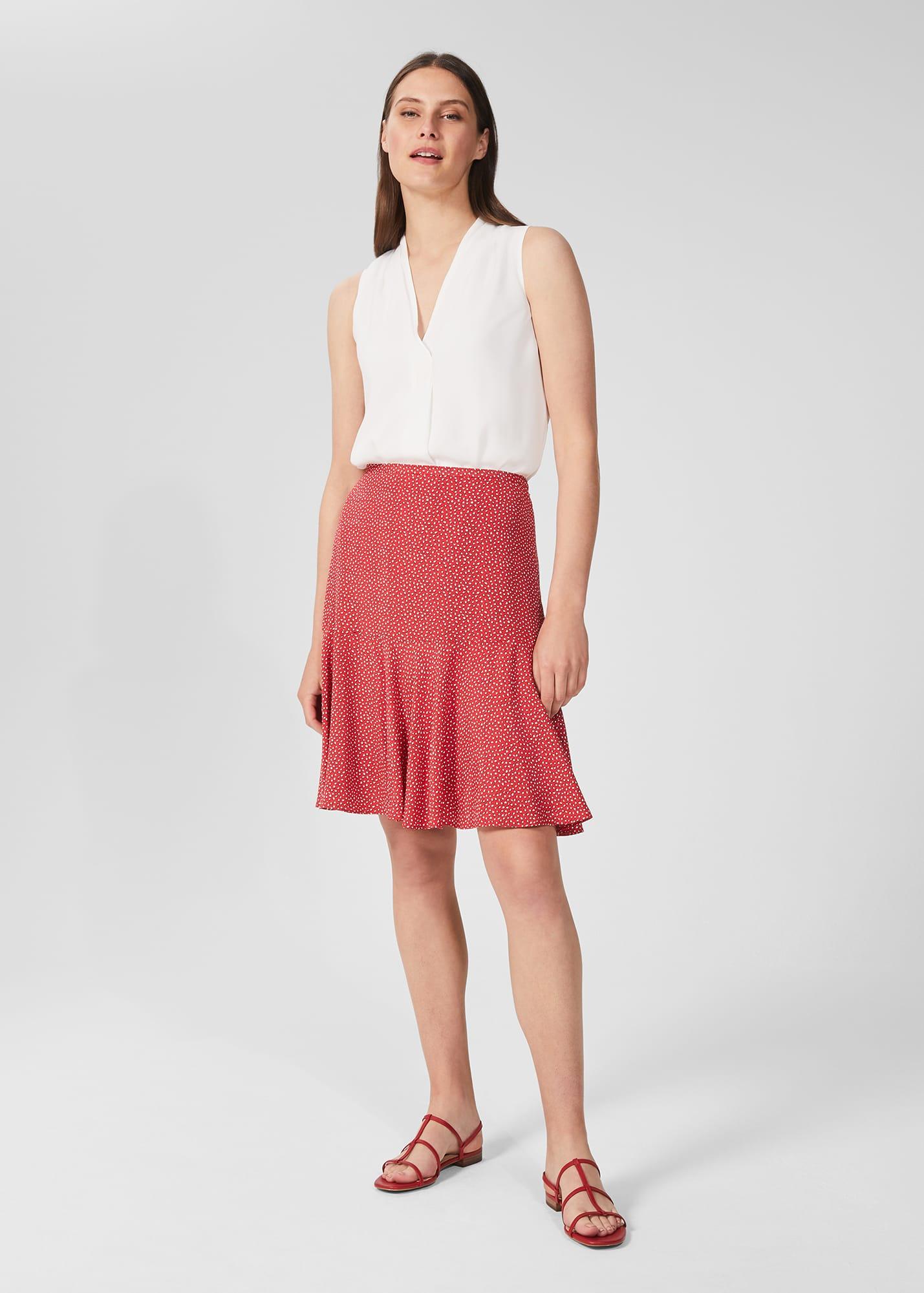 Hobbs Women Catalina Printed Skirt