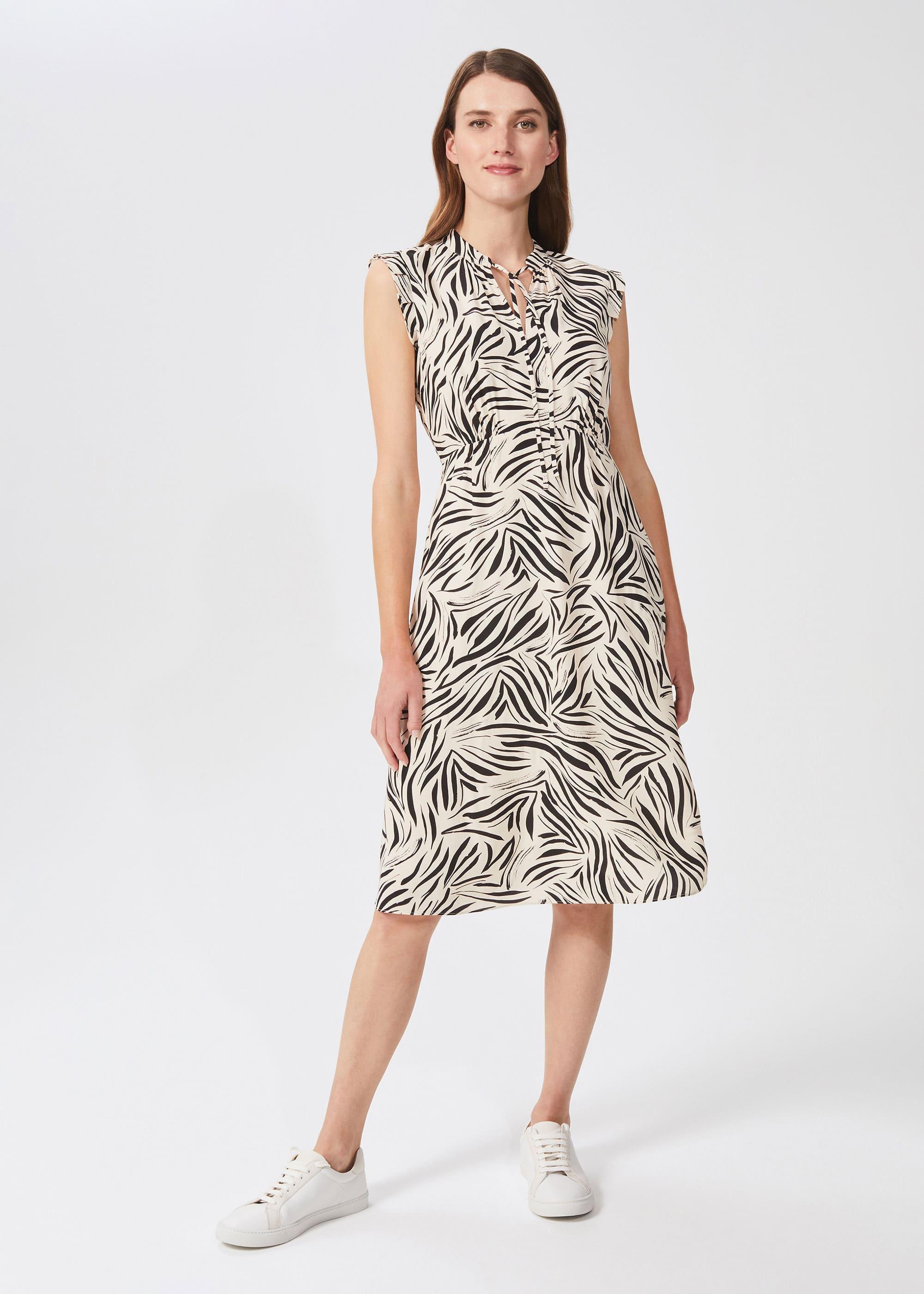 Hobbs Women Petite Evangeline Printed Dress