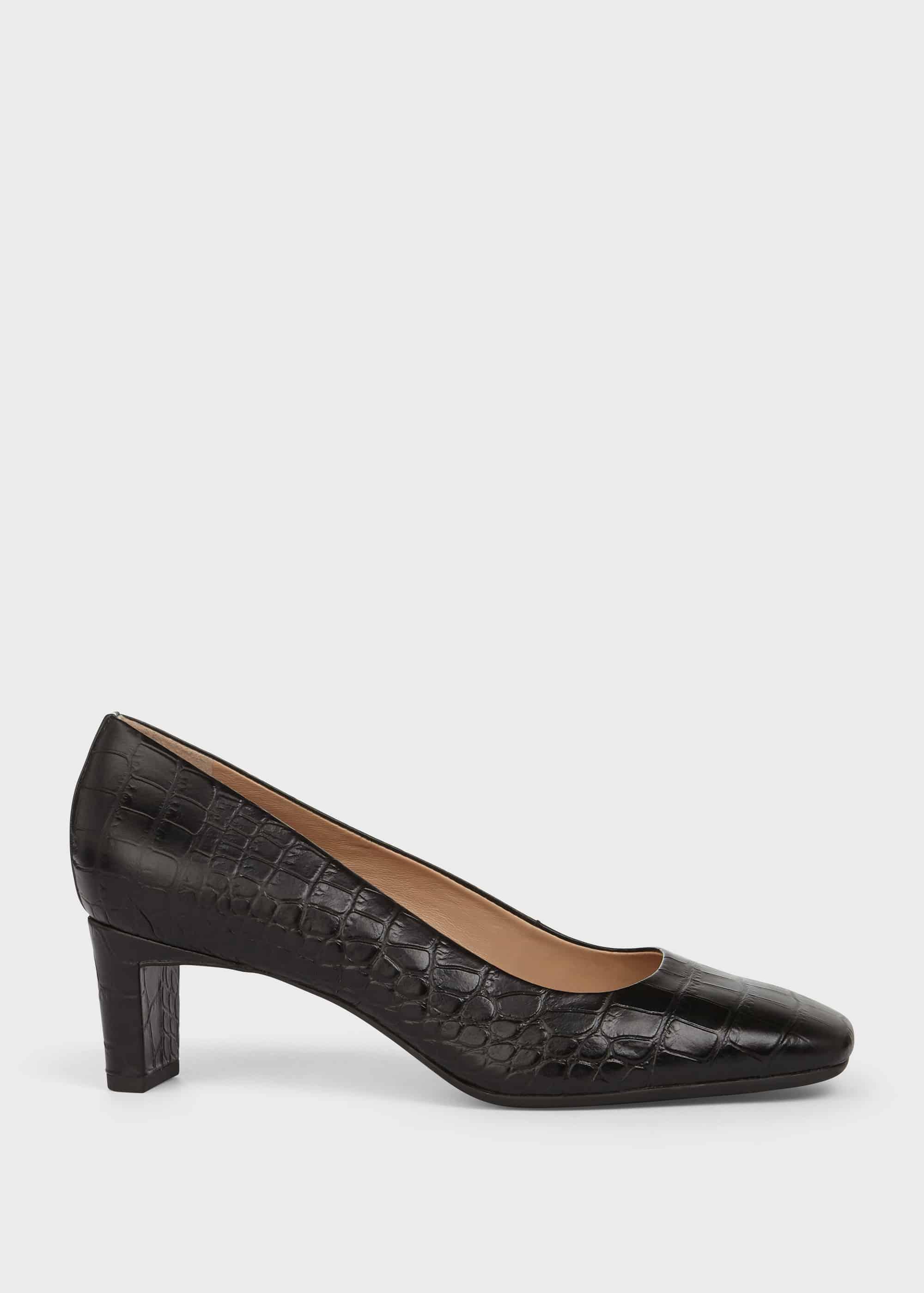 Hobbs Women Myra Leather Court Shoes
