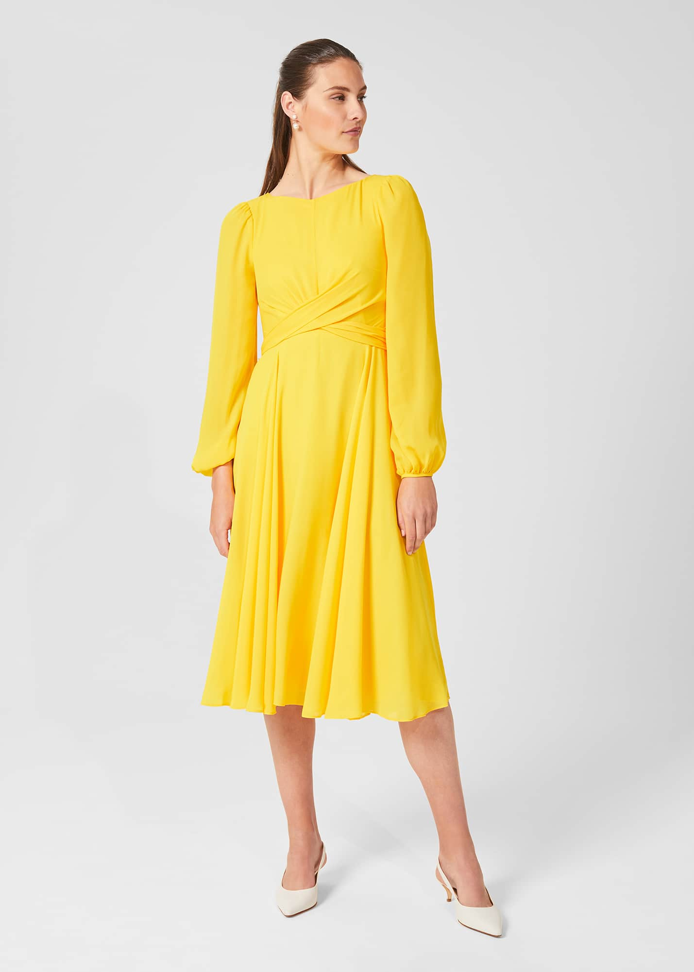 Hobbs Women Sadie Fit And Flare Dress