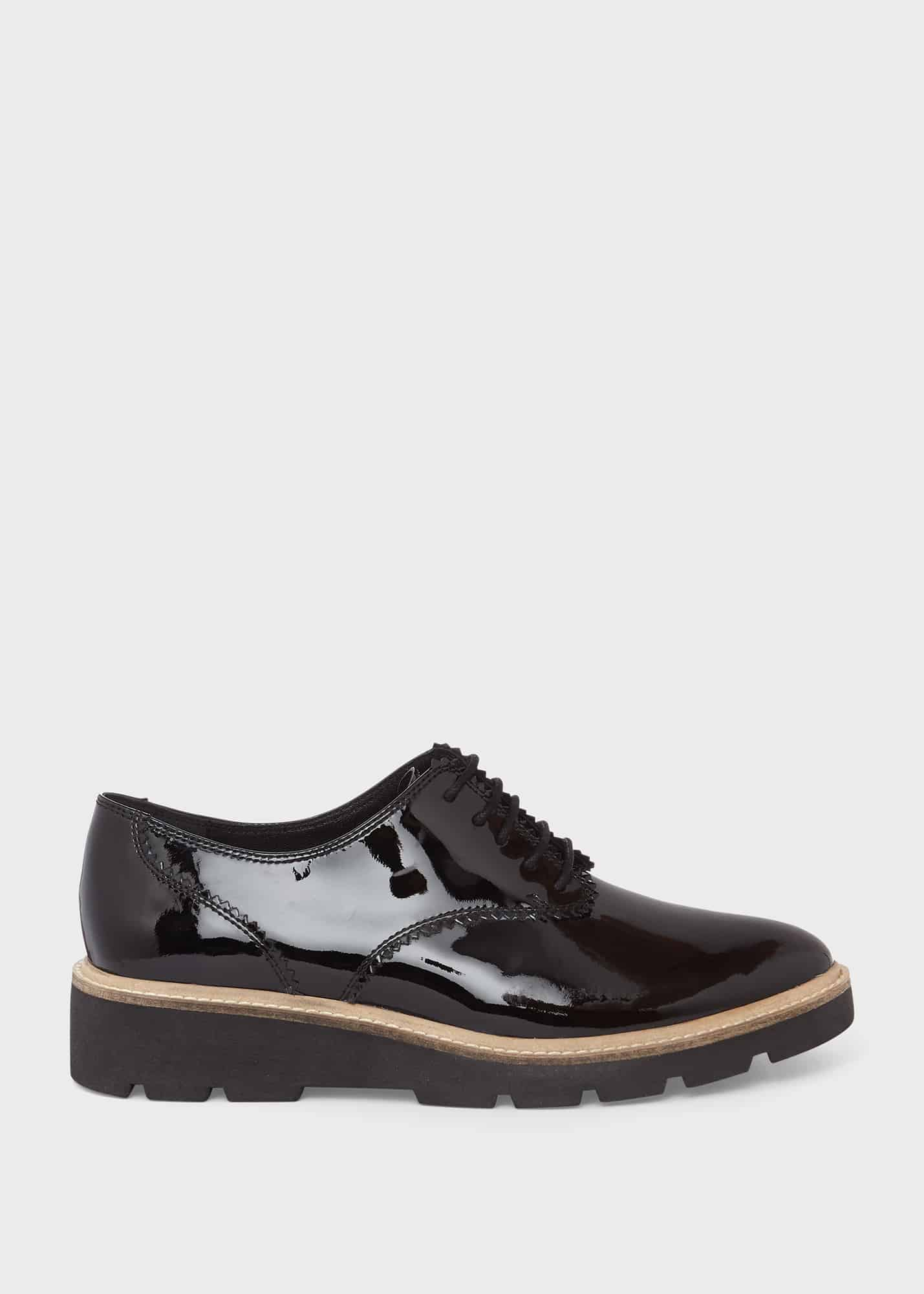 Hobbs Women Chelsey Leather Flat Shoes