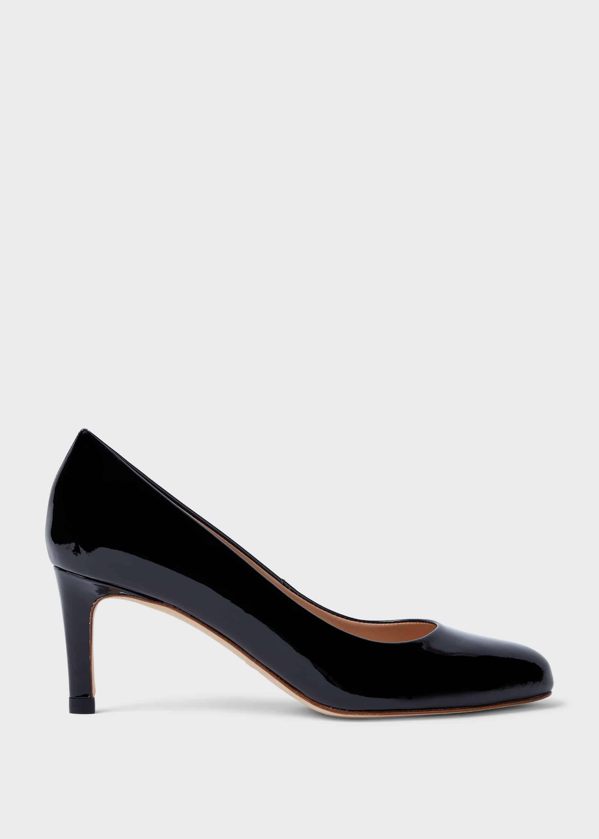 Hobbs Women Lizzie Patent Stiletto Court Shoes