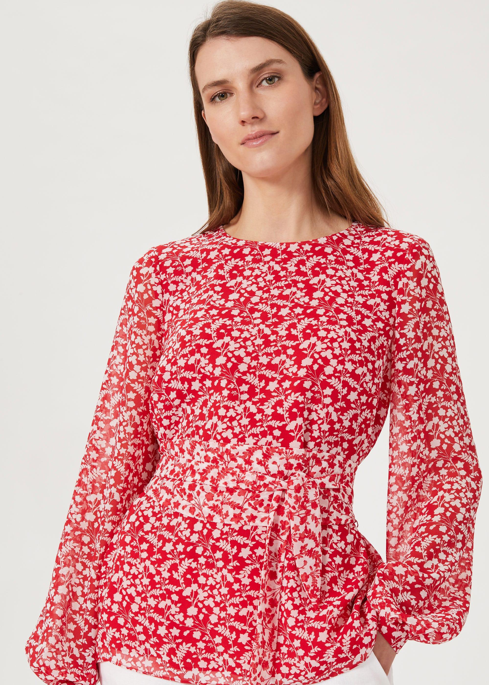 Hobbs Women Rosie Floral Top