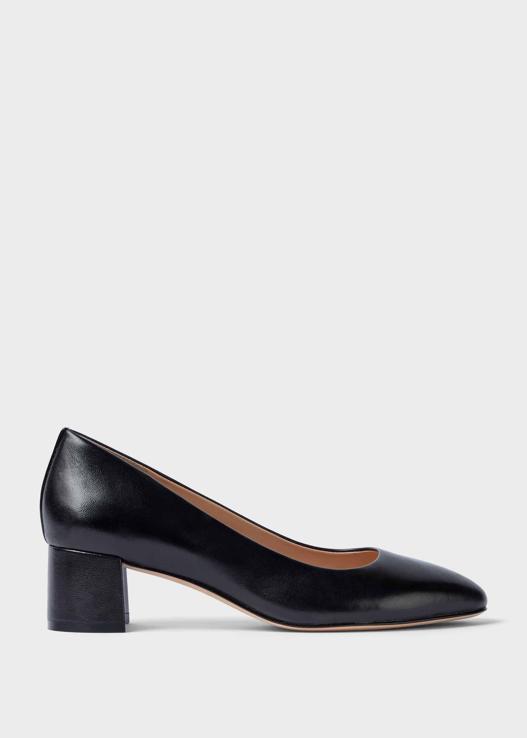 Hobbs Women Abbey Leather Court Shoes