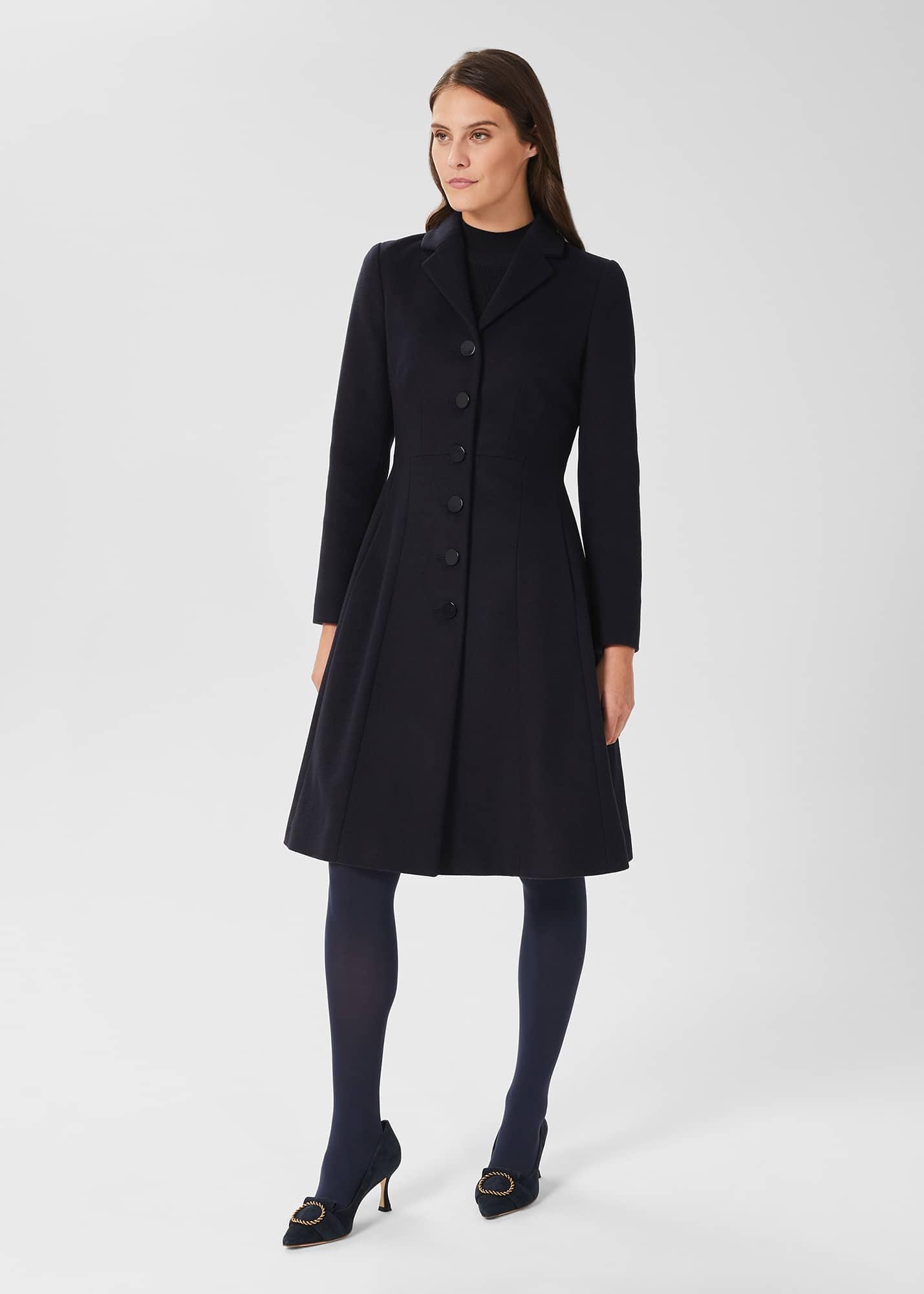 Hobbs Women Milly Wool Blend Coat