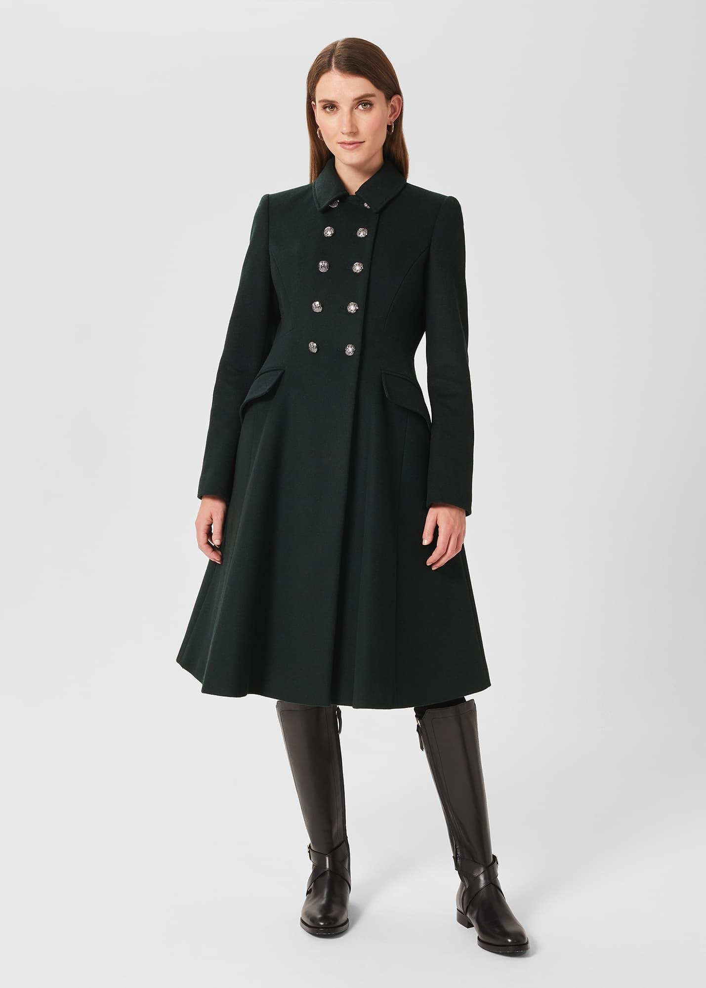 Hobbs Women Francesca Wool Blend Coat